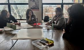 """Dr. Julie Nora on Twitter: """"Sharing strengths & needs w/colleagues @  Inaugural Regional Seminar for New England Immersion School Admin.s. Thanks  Instituto Cervantes at Harvard for hosting. Special thanks to Ofelia Wade"""