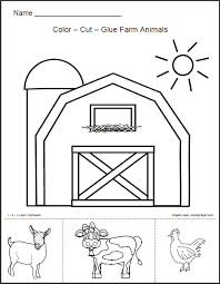 2ea652e7a02643d19007db3467fb7eeb 1 2 3 learn curriculum barn animals worksheet free on exploring science 3 worksheets