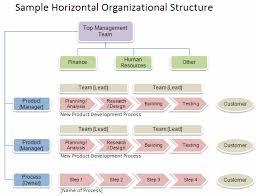 Sample Horizontal Organizational Structure Organizational