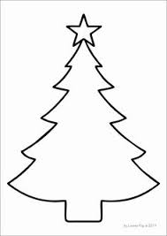 christmas tree drawing outline. Perfect Christmas FREE Christmas Tree Template Ms To Tree Drawing Outline O