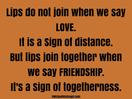 Togetherness Friendship Quotes Friendship And Love Quote Friendship