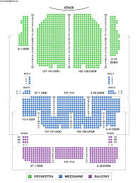 The Music Box Theater Seating Chart 25 Proper Seating Chart For Palace Theater Albany Ny