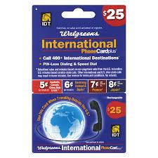 idt 25 international phone card1 0 ea