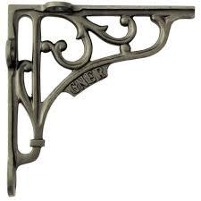 single 6 15cm cast iron gner railway shelf bracket