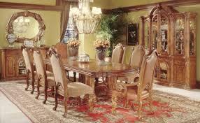 High End Dining Room Furniture - Formal oval dining room sets