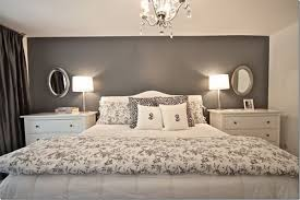 cozy bedroom design. Contemporary Cozy This Master Bedroom Looks Very Nice Big And Tall With A Dark Gray Accent  Wall On Cozy Bedroom Design
