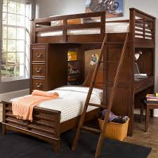 Liberty Furniture Bedroom Chelsea Square Youth Twin Loft Bed Unit With Built In Desk And