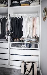 20 Incredible Small Walkin Closet Ideas U0026 Makeovers  The Happy Ikea Closet Organizer Walk In Closet