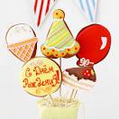 Имбирное печенье с днем рождения