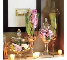 Fill Glass Jars Decorating Pretty ideas for apothecary jars Apothecaries Jar and Floral 2
