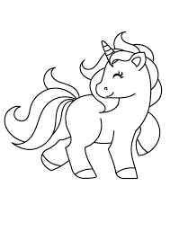 Filled with innocence and love, there is absolutely no doubt your child won't fall in love with this cutie. Baby Unicorn Coloring 2 Coloring Page Unicorn Coloring Pages