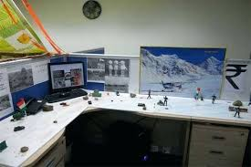 office cubicles accessories. Cool Cubicles Office Cubicle Accessories With War In The Snow Theme Tall Doors