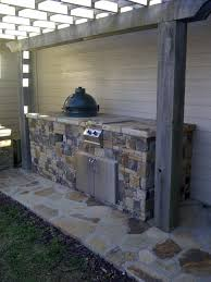Big Green Egg Outdoor Kitchen Big Green Egg Island Outdoor Kitchen And Fire Pit In Hoover Al