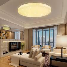 Designer Indoor Lighting Us 24 88 37 Off 16w Led Ceiling Light Warm White Starry Sky Ceiling Lamp Changeable Modern Indoor Lighting Fixture Living Room Kitchen Bedroom In
