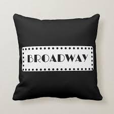broadway als pillow zazzle com