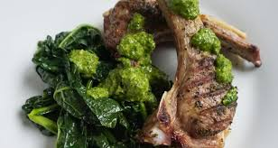 Grilled Lamb Chops With Italian Salsa Verde