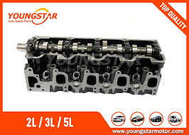 Toyota Dyna Engine PartComplete Cylinder Head For Hilux Hiace 5L 3.0 ...