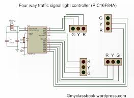 traffic light control system circuit diagram images segment block diagram wiring diagram or