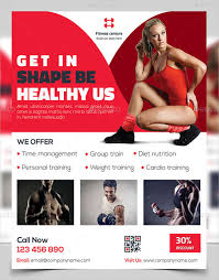 Training Flyer 50 Printable Fitness Flyers Psd Eps Word Formats Free