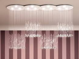 marchetti lighting. LED Crystal Ceiling Lamp FEELING By Marchetti Lighting