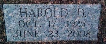 harold d sterling 1925 2008 a grave memorial harold d sterling