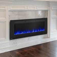 Napoleon Allure 60-Inch Linear Wall Mount Electric Fireplace ...