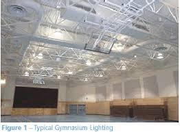 gym lighting design. figure 1 typical gymnasium lighting gym design i