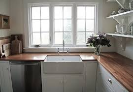 one family s adventures in remodeling spent 240 on countertop materials in her kitchen including an 80 slab of ikea butcher block finished with a