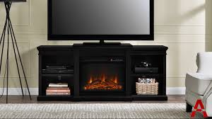 manchester electric fireplace tv stand product tour
