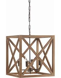 wood and metal chandelier. Creative Co-Op Metal And Wood Chandelier, 15.75\ Chandelier