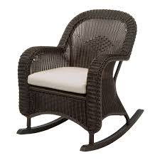 wicker rocking chair. The Little Town That Rocks Home Baby Rocking Chair Black Wicker