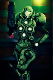 Metroid Light Suit Samuss Glow In The Dark Light Suit Metroid Suits