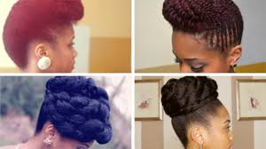 Natural Formal Hairstyles Prom Formal Updo Hairstyles On Natural Hair Youtube