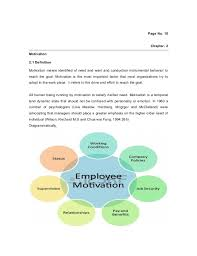 term paper employee motivation of global merchants limited  16