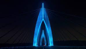 fantastic lighting. the fantastic lighting design of africa\u0027s longest cable-stayed bridge - philips color kinetics a