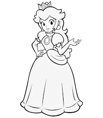 Small Picture Fresh Princess Peach Coloring Page 22 On Seasonal Colouring Pages