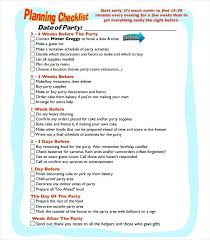 Party Agenda Sample Birthday Agenda Template Party Schedule Template Event Itinerary