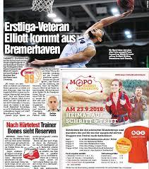 PressReader - Chemnitzer Morgenpost: 2018-08-14 - Erstliga-Veteran Elliott  kommt aus Bremerhaven
