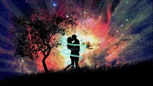 beautiful love couple at dark night pic wallpaper