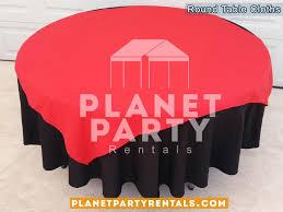 tablecloth round overlay diamond als 09