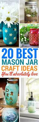 Mason Jar Projects Best 25 Mason Jar Diy Ideas On Pinterest Jar Crafts Mason Jar