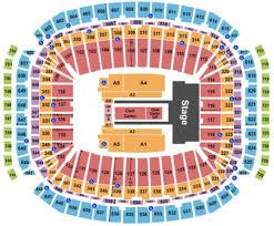 Nrg Concert Seating Chart Reliant Stadium Tickets And Reliant Stadium Seating Charts