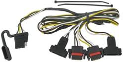 2004 dodge dakota trailer wiring etrailer com t one vehicle wiring harness 4 pole flat trailer connector out factory trailer connector tekonsha 2004 dodge dakota