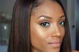 tutorial neutral eyeshadow eye makeup ideas for black women everyday look dark skin tutorials trend 5