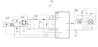 patent us8358078 fluorescent lamp dimmer multi function patent drawing
