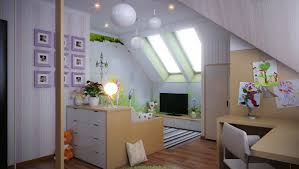 contemporary attic bedroom ideas displaying cool. Attractive And Functional Attic Bedroom Design Ideas To Inspire You : Beautiful Kids Bed Room Contemporary Displaying Cool A