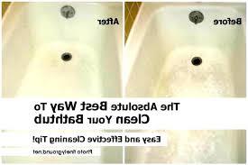 clean bathtub jet how