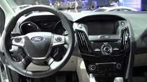 Ford Interior Design All New Ford Focus Electric Interior Design