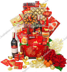 Small Picture Chinese New Year Hamper Royal Fortunes Toko Bunga Online