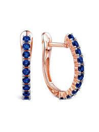 Купить ювелирные <b>серьги</b>-<b>кольца</b> в интернет магазине ...